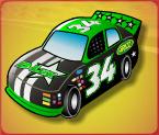 fast lane green car