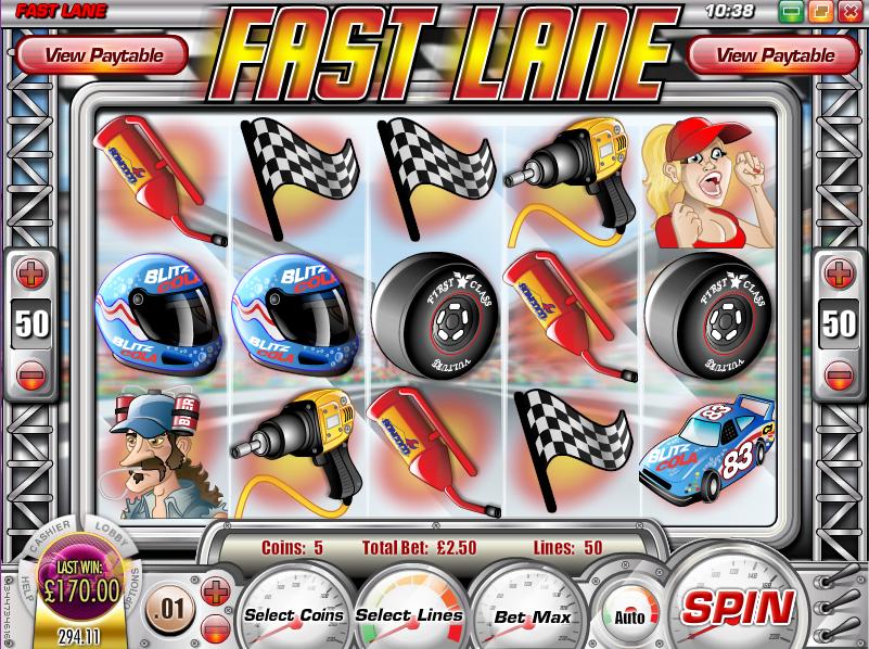 fast lane slot review