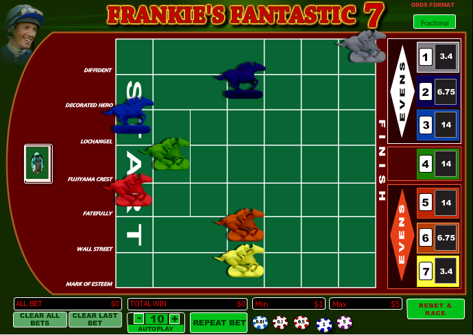 frankies fantastic 7 screenshot