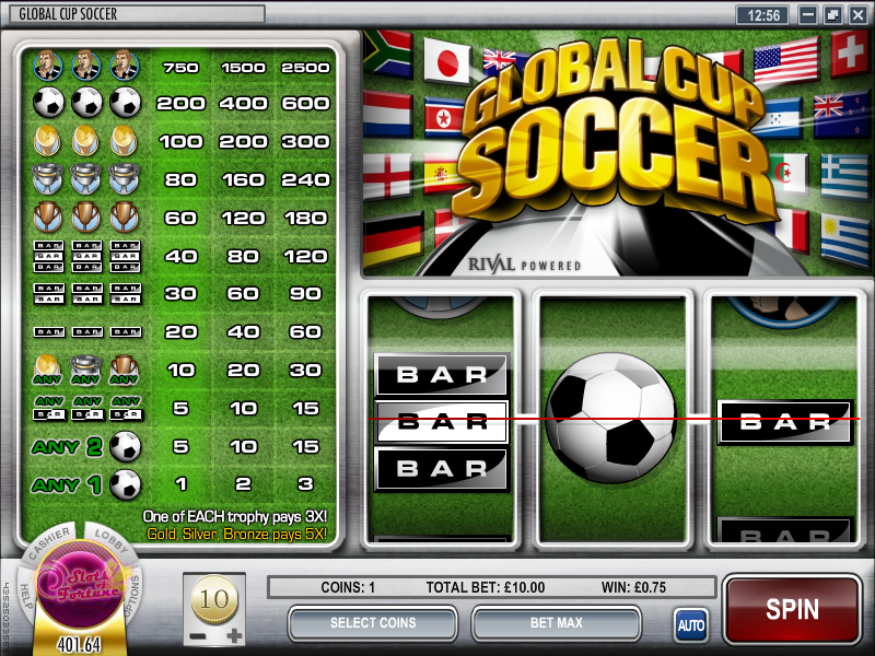 Soccer Slots - Review & Play this Online Casino Game