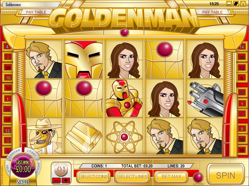 goldenman slot review