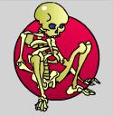 grandmas attic skeleton