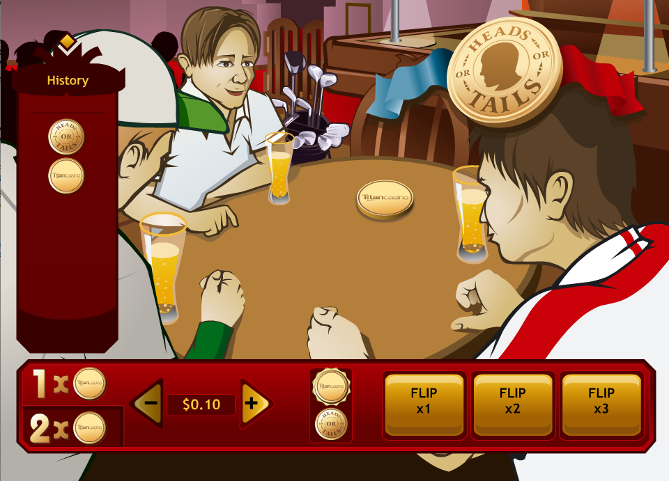 Play Heads or Tails Arcade Game Online at Casino.com Canada
