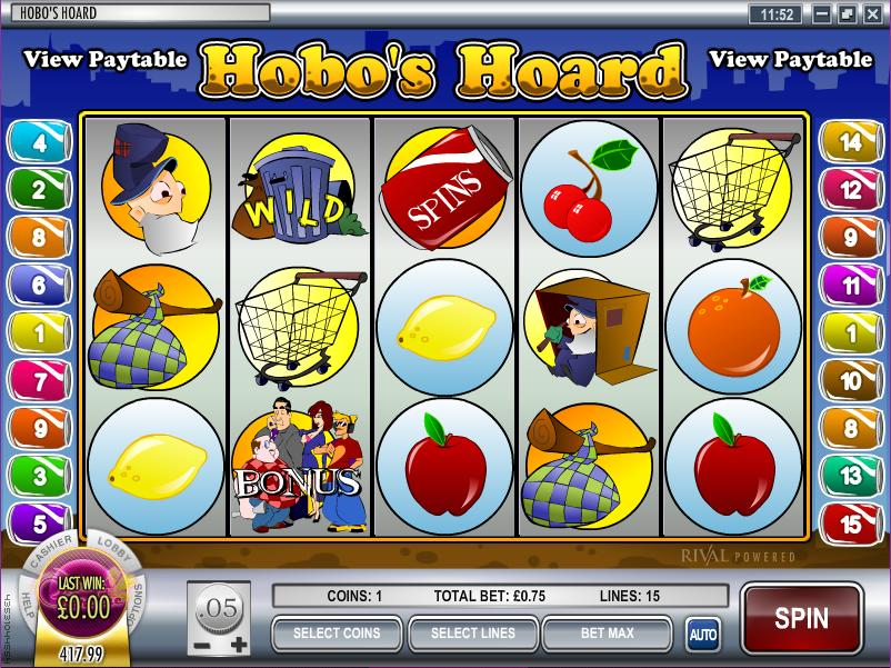 hobos hoard slot review