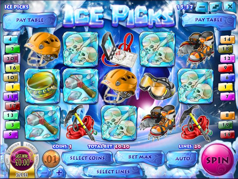ice picks slot review