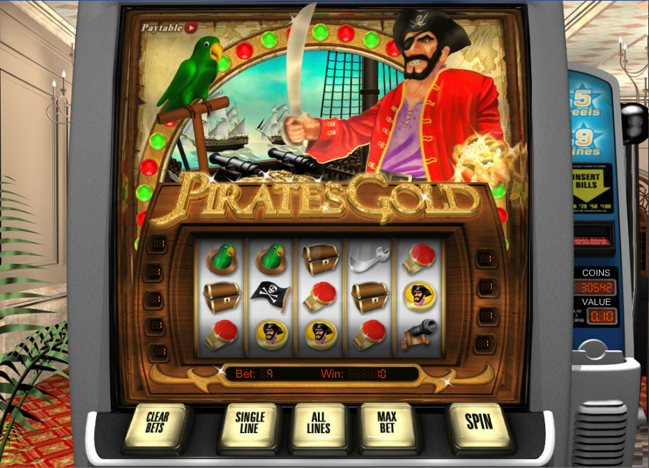pirates gold slot review