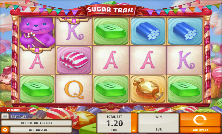 sugar trail slot review