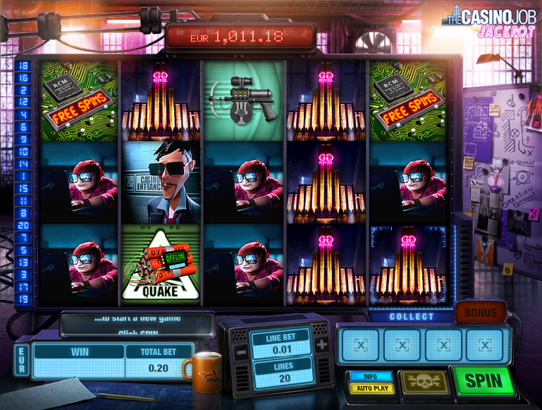 the casino job slot review
