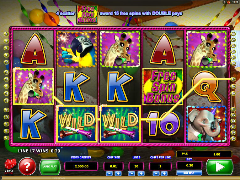 wild birthday blast slot review