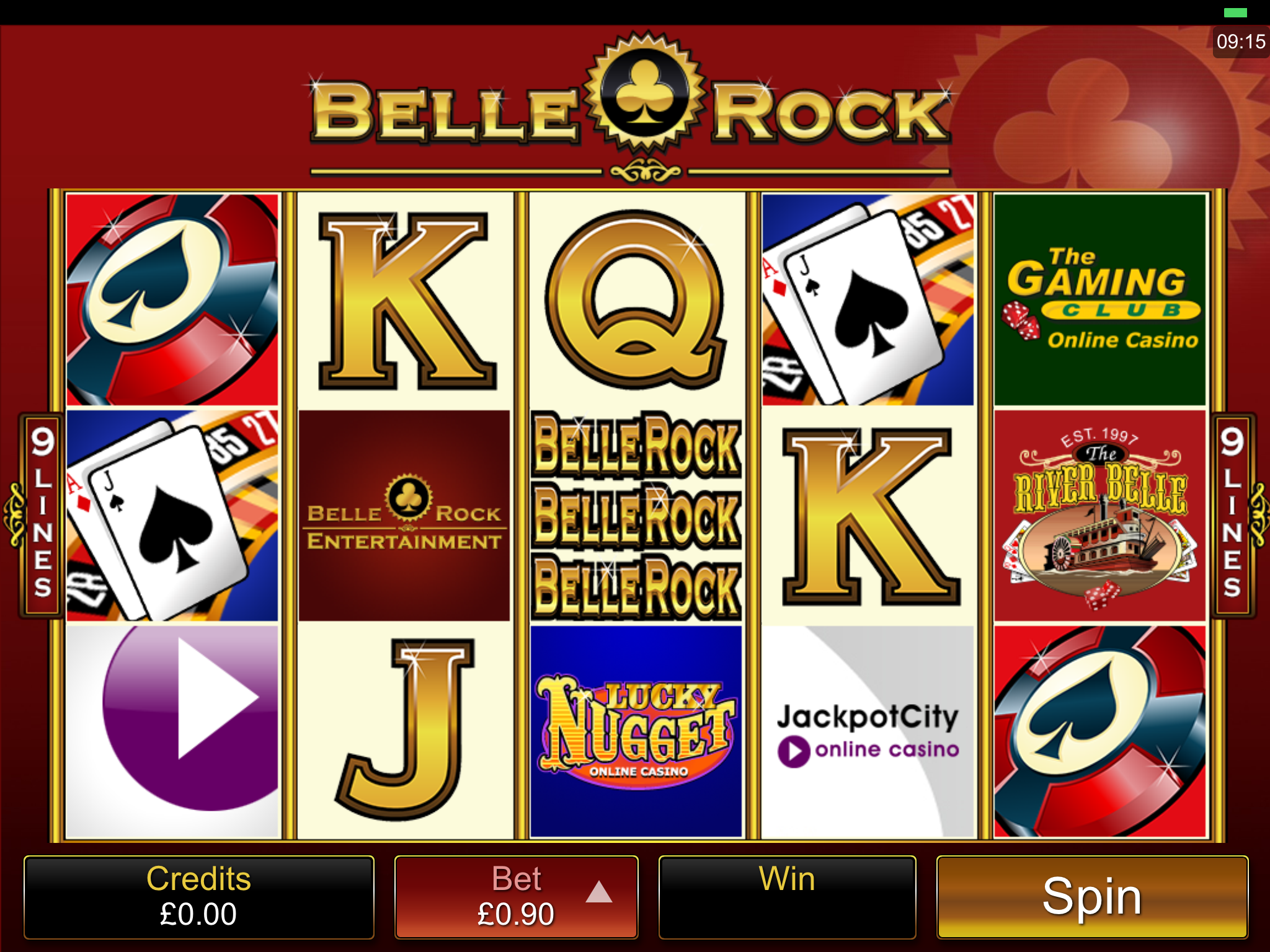 belle rock slot review