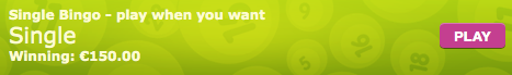 betsson single bingo button