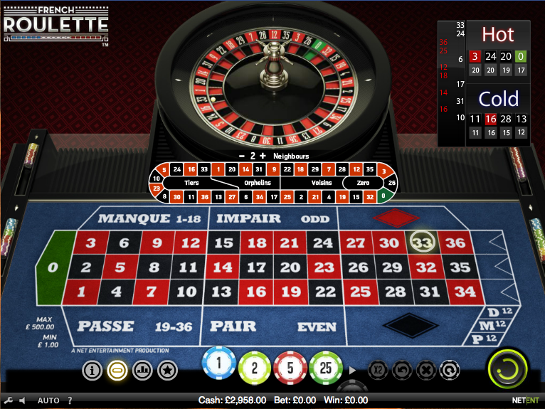 french roulette review
