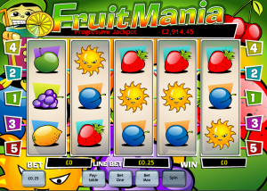 Play Fruit Mania Online Slots at Casino.com UK
