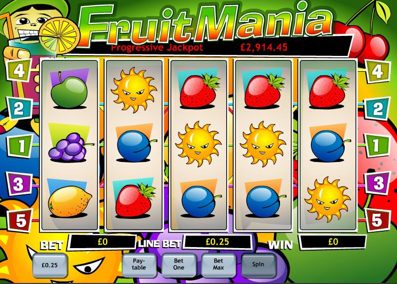 fruit mania slot review
