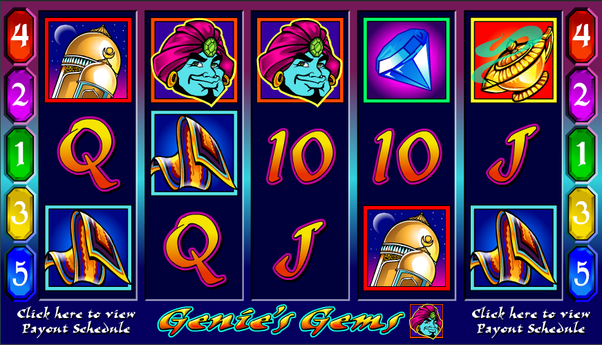genie's gems slot review
