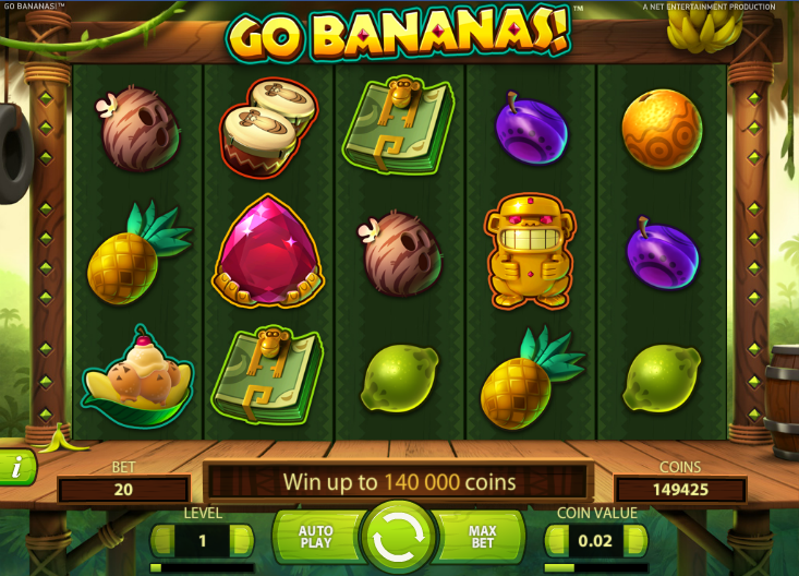 go bananas slot review