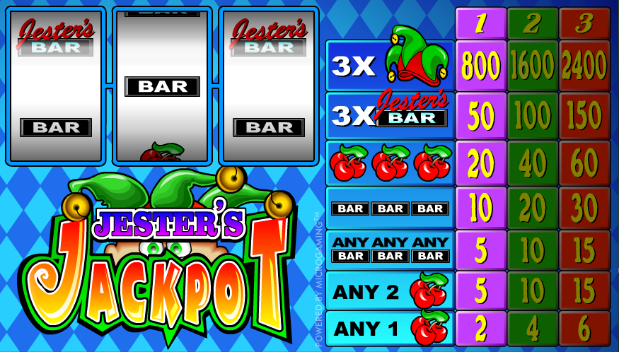 Jester Slots - Play the Online Slot for Free
