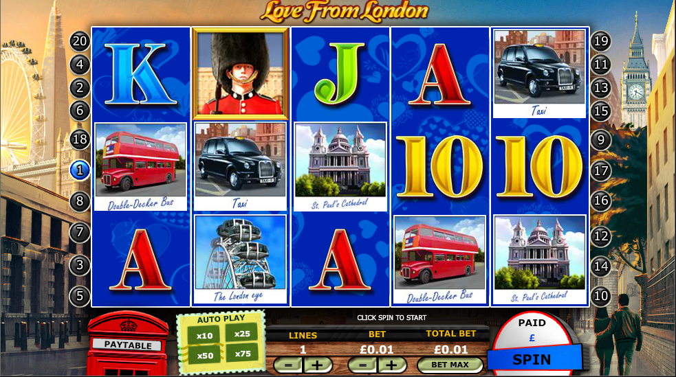 love from london slot review