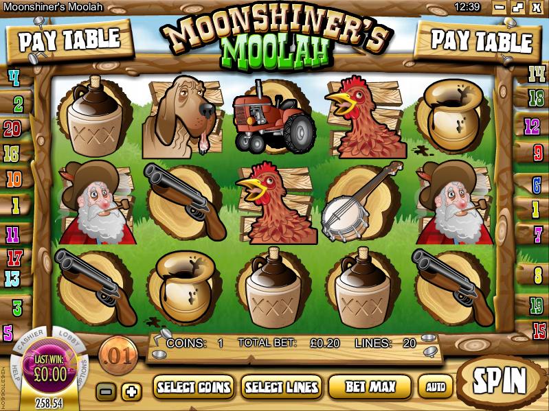 moonshiners moolah slot review