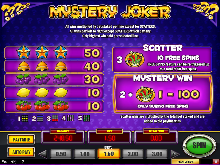 Mystery Joker Online Slots for Real Money - Rizk Casino