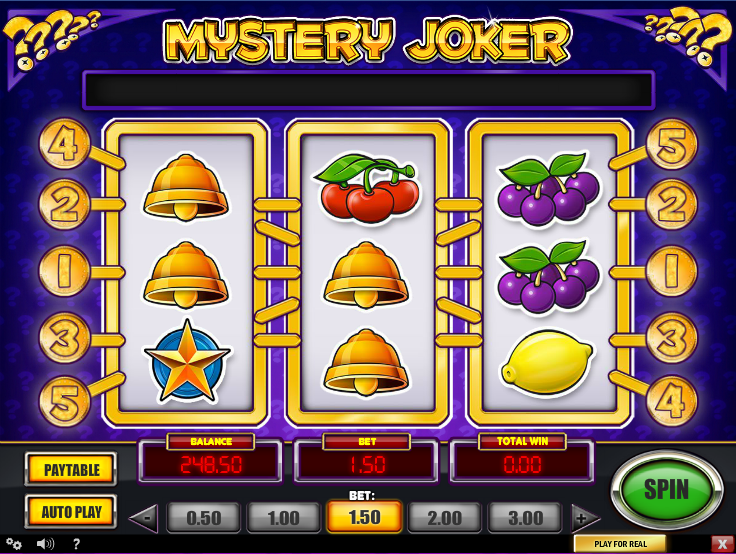Play popular Mystery Joker slot at Casumo casino