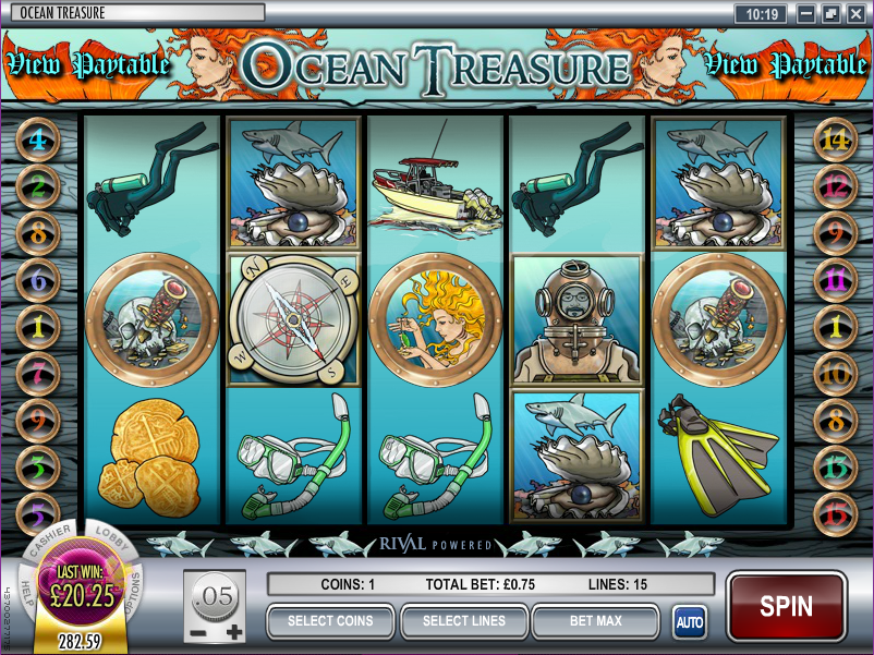 Deep Sea Treasures Slots - Play Online for Free Money