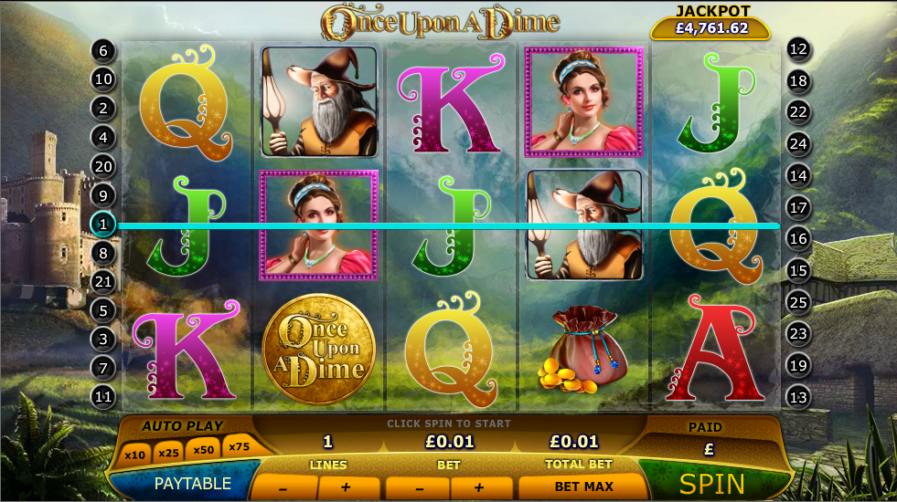 once upon a dime slot review