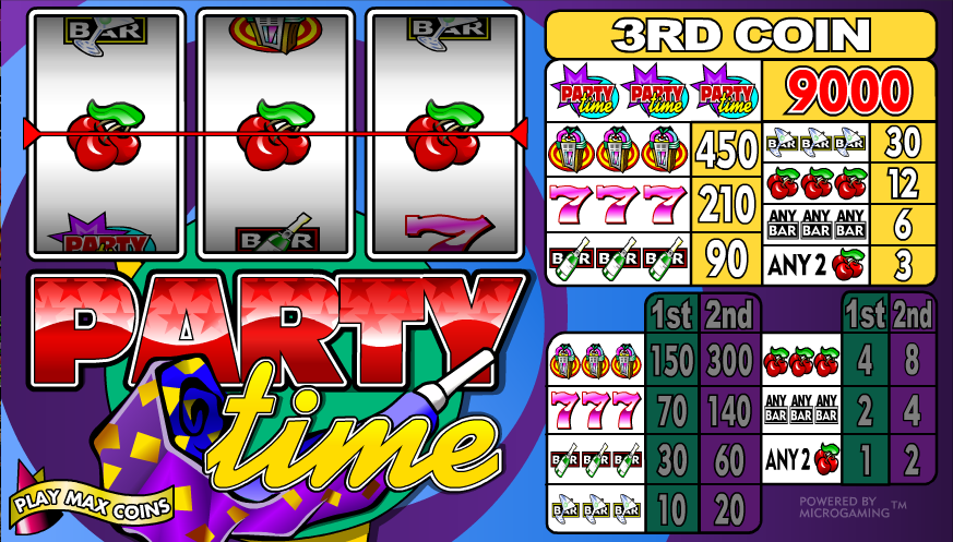party time slot review
