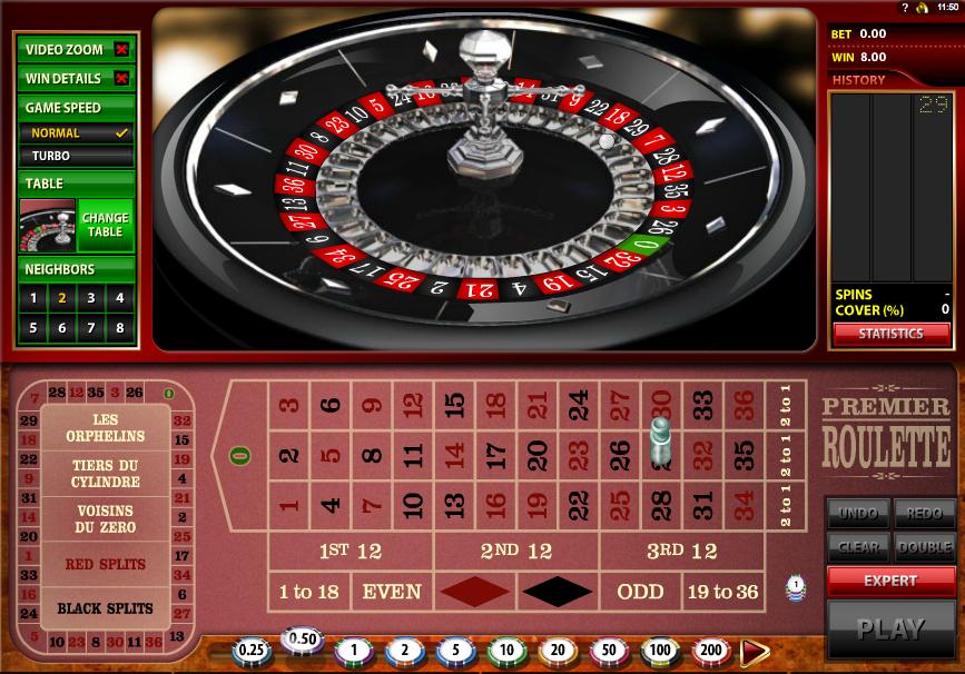 premier roulette slot review