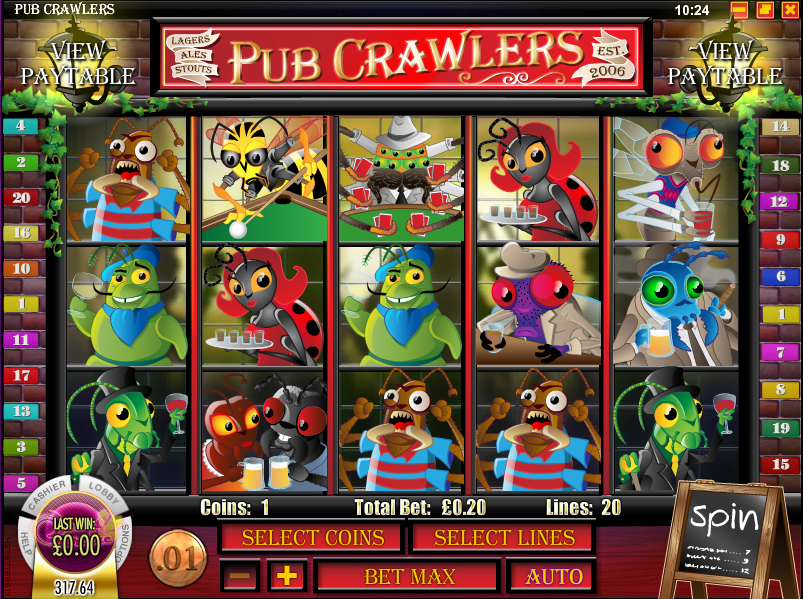 pub crawlers slot review