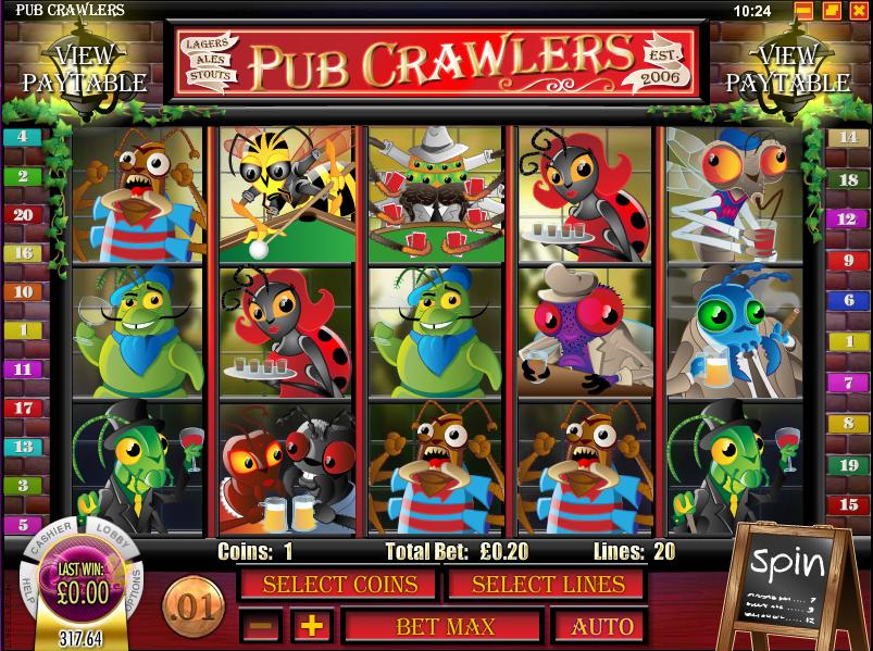 pub crawlers slot review