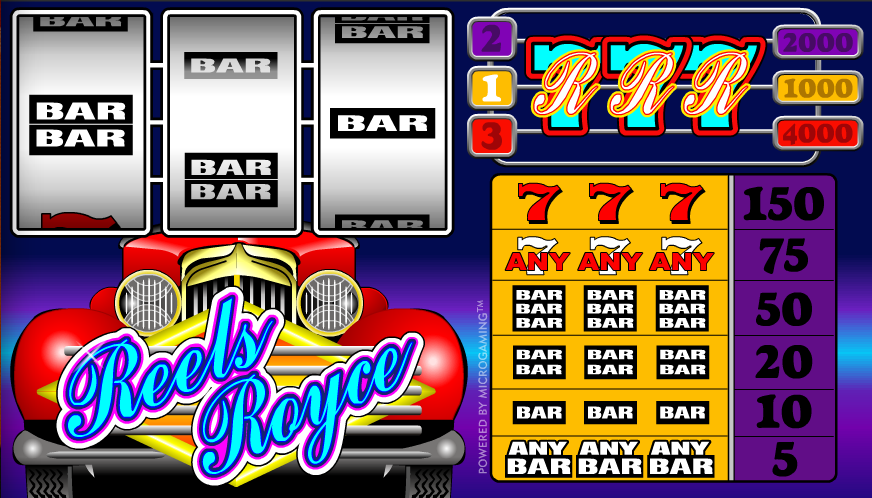 Reels Royce™ Slot Machine Game to Play Free in Microgamings Online Casinos