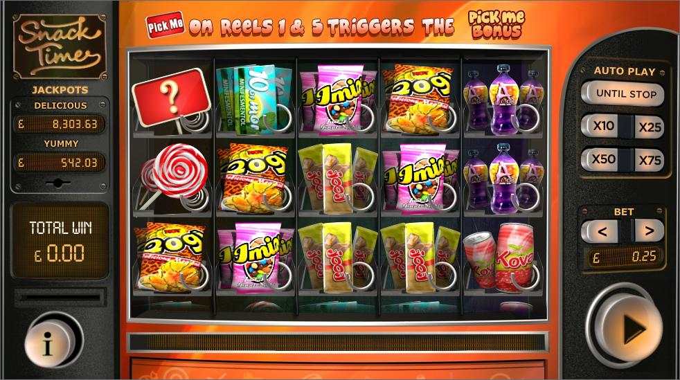 snack time screenshot
