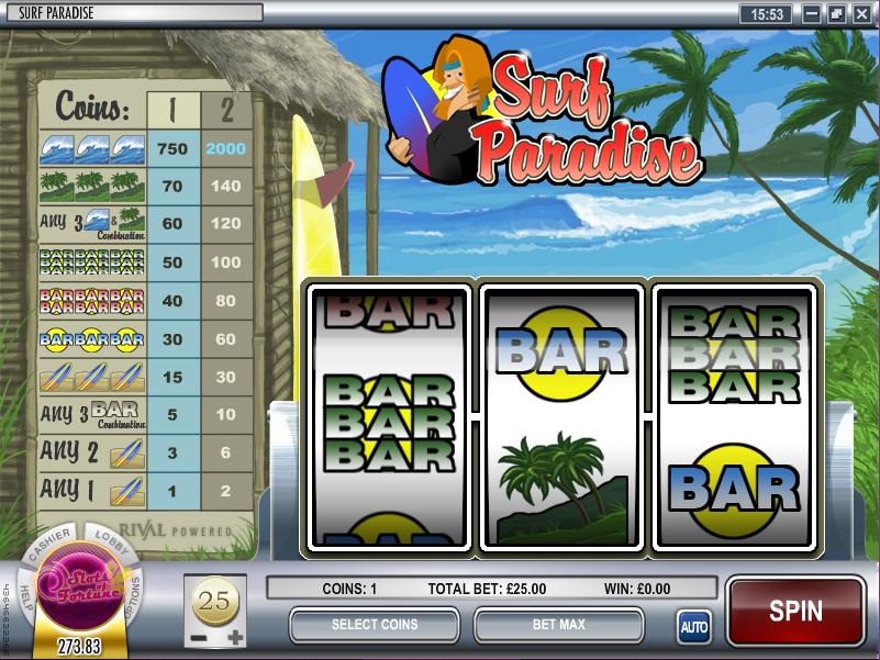 surf paradise slot review