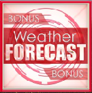 todays weather scatter