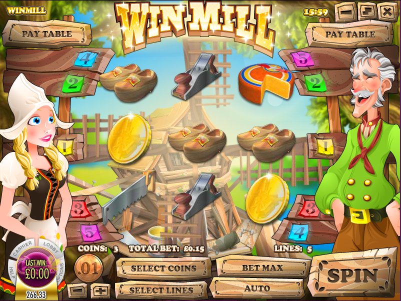 win mill slot review