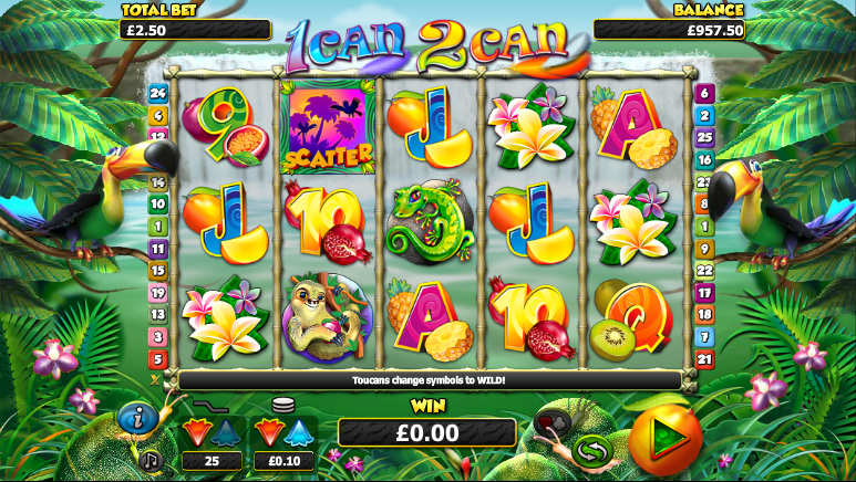 1 can 2 can nextgen gaming slot game powers golf