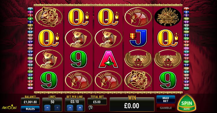 50 dragons slot review