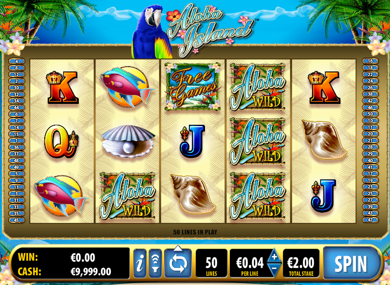 Play Aloha! Slot Online at Casino.com UK