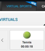 bet victor tennis tab