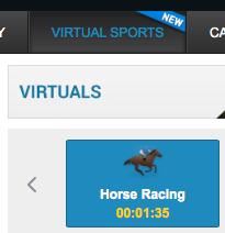 bet victor virtual horse