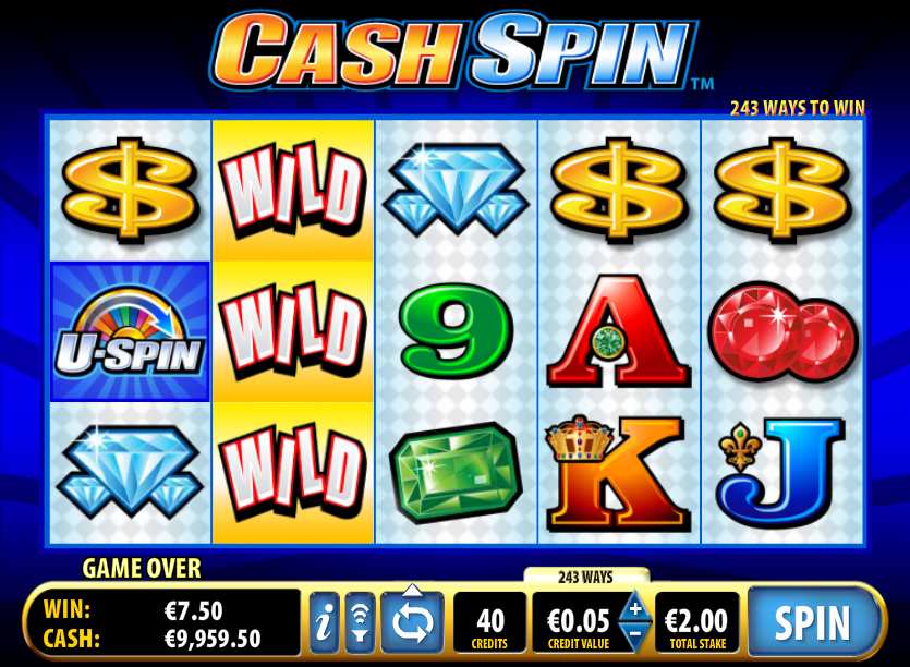 cash spin slot review