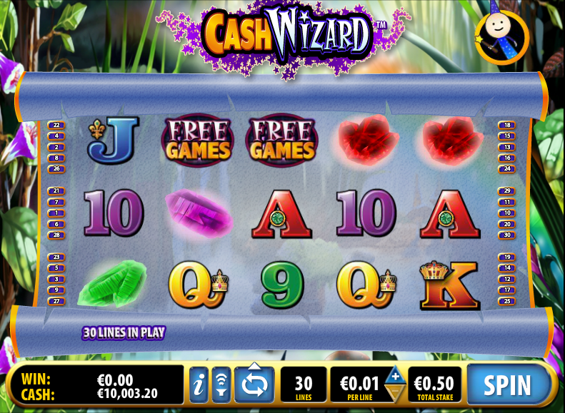 cash wizard slot review