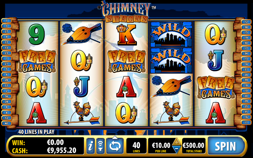 chimney stacks slot review