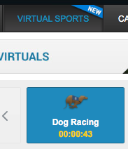 dog racing buttons