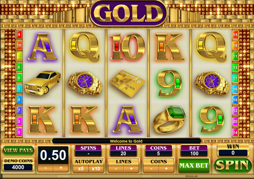 gold slot review