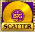 gold scatter