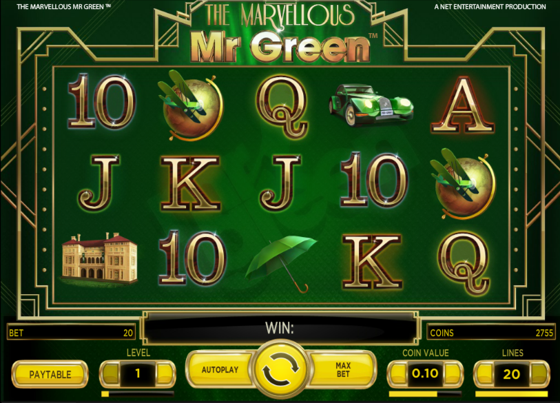 marvellous mr green slot