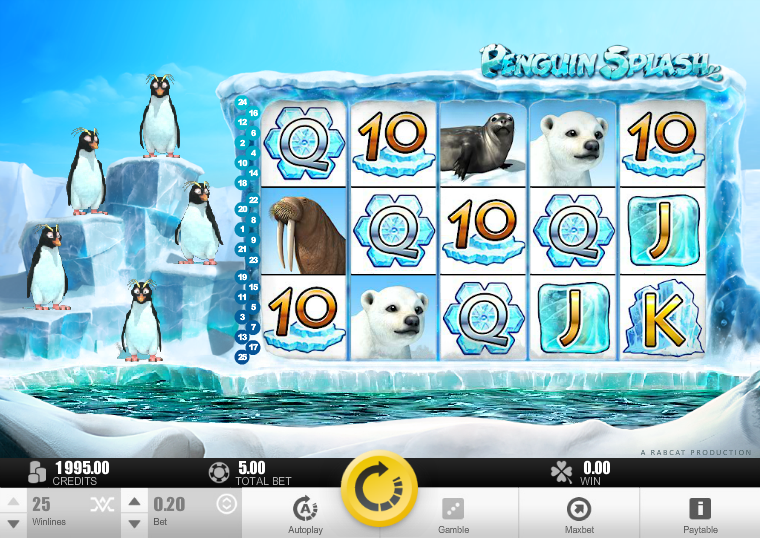 penguin splash slot review