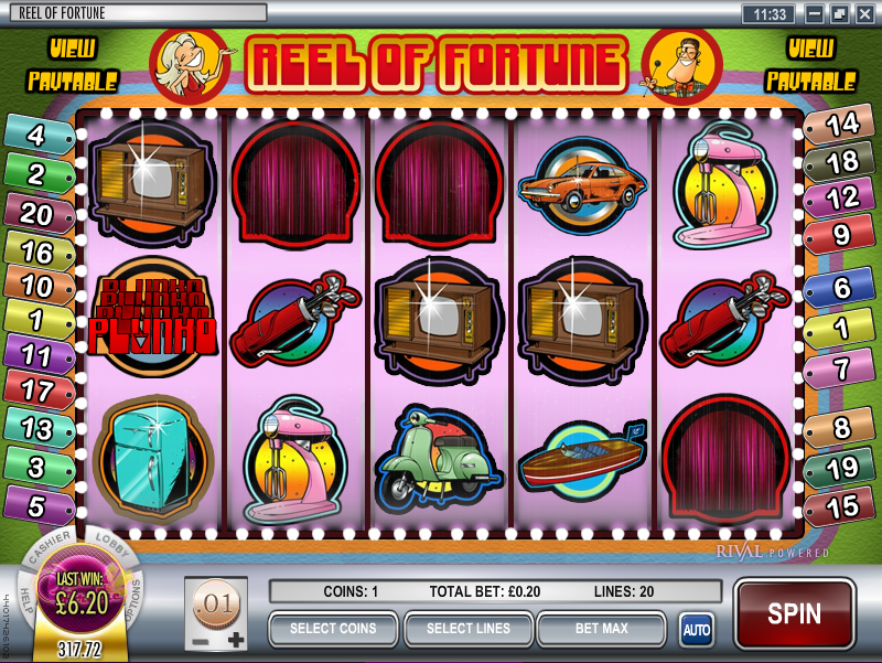 reel of fortune slot review